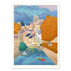 """Georges Lambert (1919-1998), """"Vannes"""" Limited Edition Lithograph, Numbered and Hand Signed."""