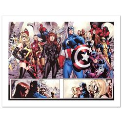 """""""Fear Itself #7"""" Limited Edition Giclee on Canvas by Stuart Immonen and Marvel Comics. Numbered and"""