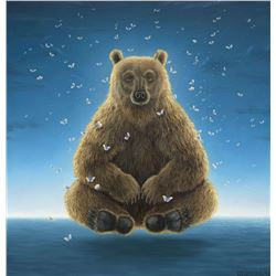 """Robert Bissell """"Sage of the Night"""" Giclee on Canvas"""