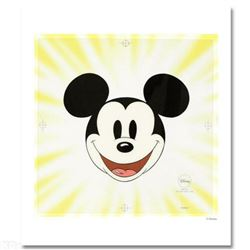 """Disney """"Here's Mickey"""" Limited Edition Sericel with Certificate of Authenticity."""