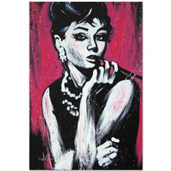 """""""Audrey Hepburn (Fabulous)"""" Limited Edition Giclee on Canvas by David Garibaldi, Numbered from Minia"""