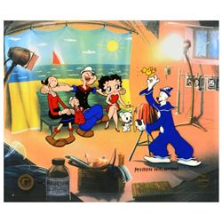 """Myron Waldman (1908-2006). """"Photo Op"""" Limited Edition Hand Inked and Painted Animation Cel, Numbered"""