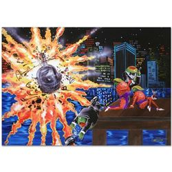 """""""Shaken Not Stirred"""" Limited Edition Giclee on Canvas (35"""" x 25"""") by Michael Godard, CS Numbered and"""