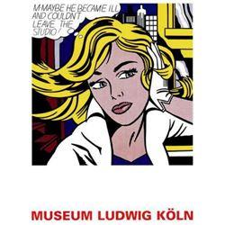"""Roy Lichtenstein """"M-Maybe"""" Offset Lithograph"""