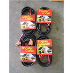 4 New Sets 12ft Jumper Cables