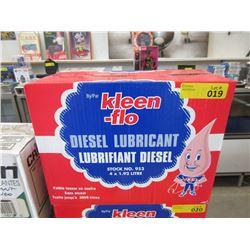 Case of Kleen Flo Diesel Lubricant
