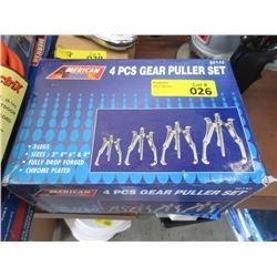 New 4 Piece Gear Puller Set