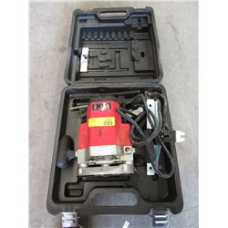 King Heavy Duty Router with Case