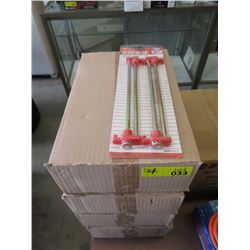 4 Cases of 10 Inch Tent Nails