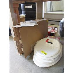5 Assorted New Toilet Seats
