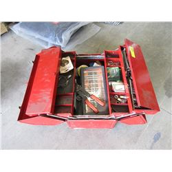 Craftsman Fold Out Tool Box with Tools