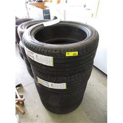 Set 4 Continental Pro Contact GX M & S Tires