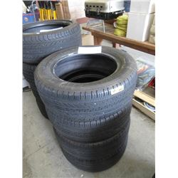 """Set of 4 Michelin """"Energy"""" P215/ 60R16 M&S Tires"""