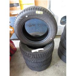 """Set of 4 Nokian """"Hakkapeliitta 195/65R15 Tires"""