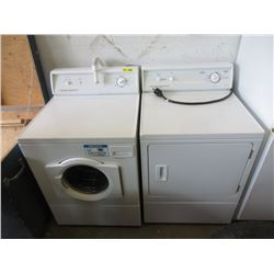 Commercial Large Capacity Washer & Dryer