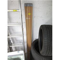 20 Extension Poles - Metal Screw-Ins