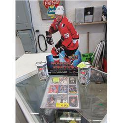 4 Piece Hockey Memorabilia Lot