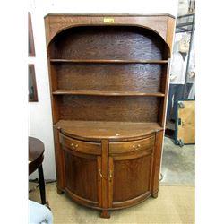 Antique Welsh Quarter Sawn Oak Cabinet