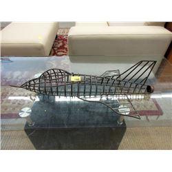 Metal Airplane Model