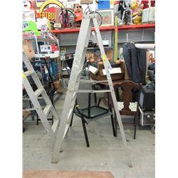 Six Foot Aluminum Step Ladder