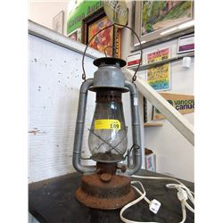 Vintage Beacon Barn Lamp - Converted to electric