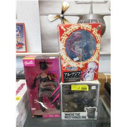 Catwoman Barbie, Anime and Wild Things Toys