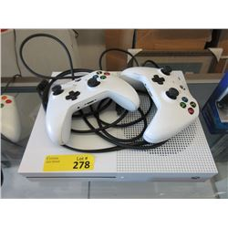 Xbox One S and Two Controllers - Store Returns