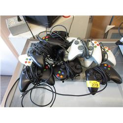 10 Xbox 360 Wired Controllers