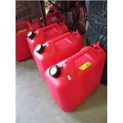 3 New 25 Litre Gas Cans