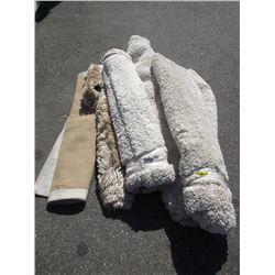5 Assorted  Area Carpets - Store Return