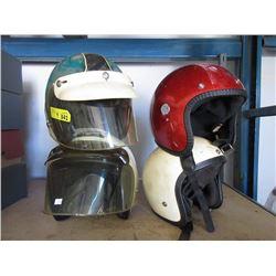 4 Motorcylce Helmets