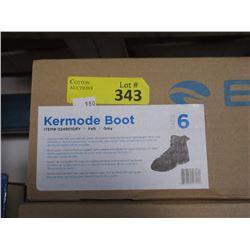 New Bare Kermode Boot - Grey Felt - Men's Size 6