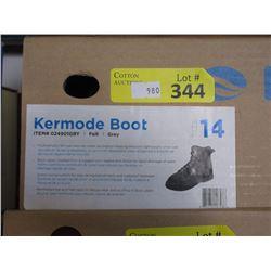 New Bare Kermode Boot - Grey Felt - Men's Size 14
