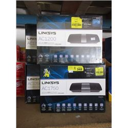 4 Linksys AC1750 Wi-Fi Routers - Store Returns