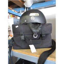 Harley Davidson Helmet & Insulated Tote