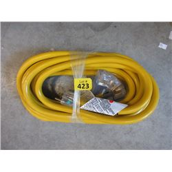 New Heavy Duty 25 Foot Multi Outlet Extension Cord
