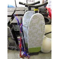 2 Ironing Boards & 3 Mops - Store Return