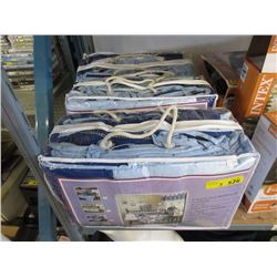 3 New 9 Piece Crib Bedding Sets - Blue
