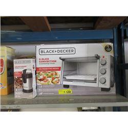Black & Decker Counter Top Oven & 3 Coffee Grinders
