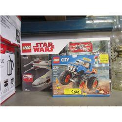 2 LEGO Building Kits - Store Returns