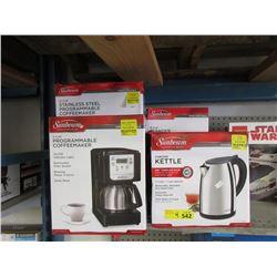 4 Sunbeam Small Kitchen Appliances