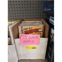 Approximately 75 Collector Comics