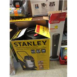 Stanley 8 Gallon Wet/Dry Vac & More