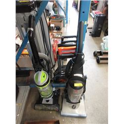 2 Upright Vacuum Cleaners - Store Returns