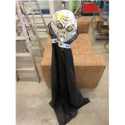 Alien Halloween Mask with Attached Cape