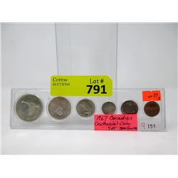 1967 Canadian Mint Coin Set - .800 Silver