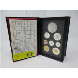 1997 Canadian Sterling Proof Silver Coin Set
