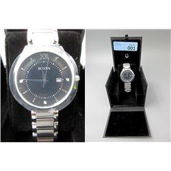 New in Box Men's Bulova Diamond Watch