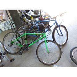 1 Norco & 1 Peugeot 21 Speed Mountain Bikes