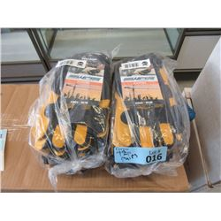 12 Pairs of New Watson Work Armour Gloves - Size M